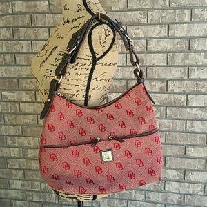 Dooney & Bourke large handbag purse in red logo